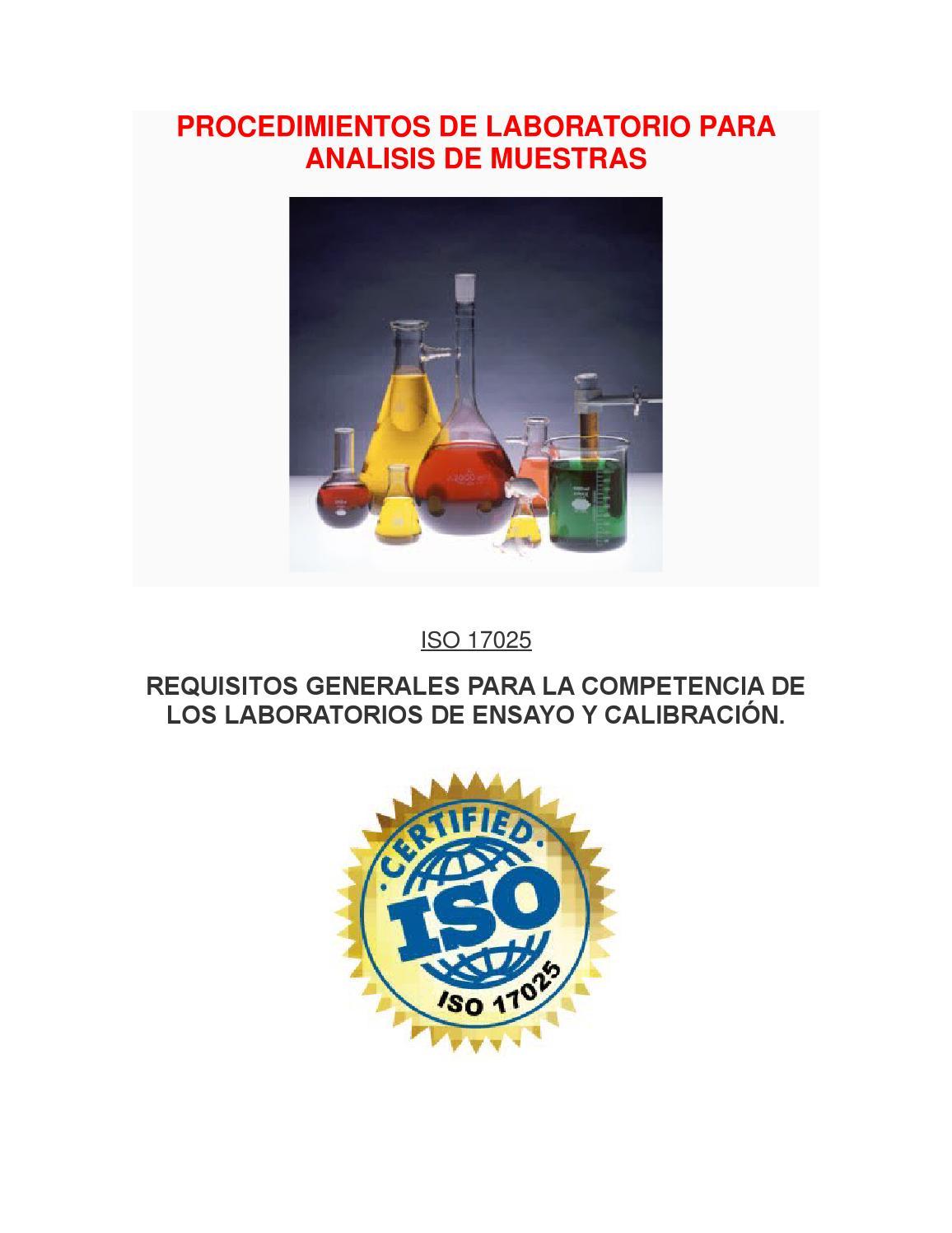 Procedimientos de laboratorio para analisis de muestras by alexssa12 ...