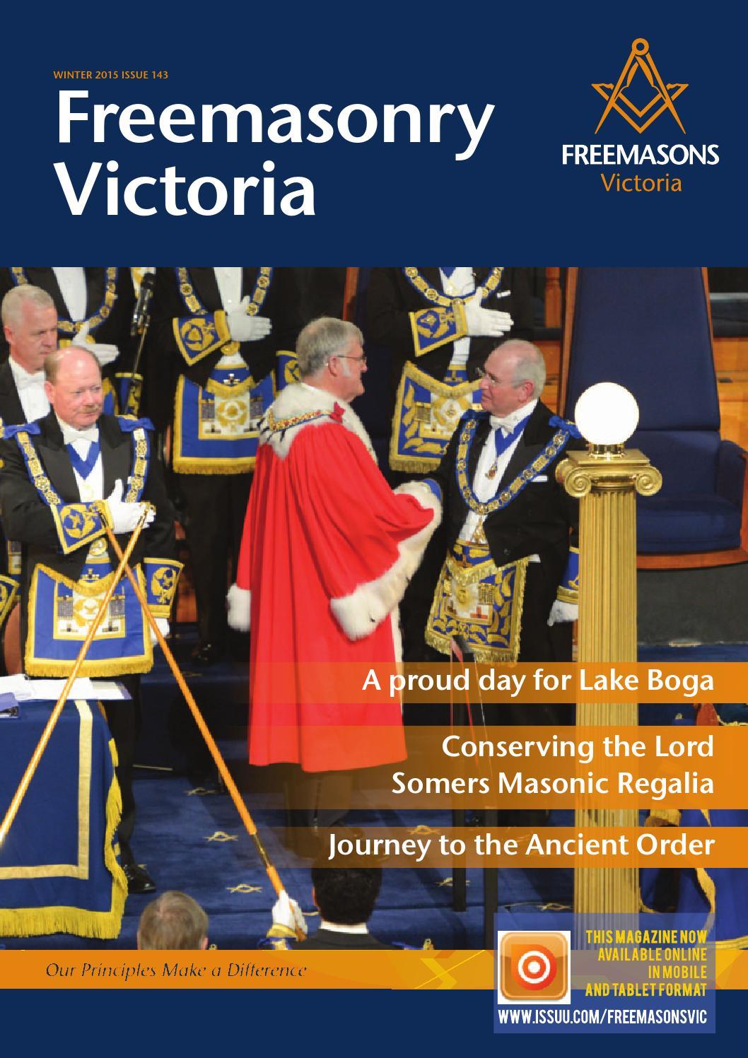 Freemasonry Victoria Magazine 143 By Freemasons Victoria Issuu