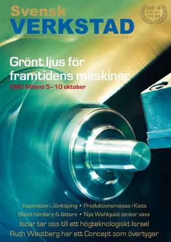 Svensk Verkstad nr. 4 2015 by Svensk Verkstad - issuu 6360d4ef13b67