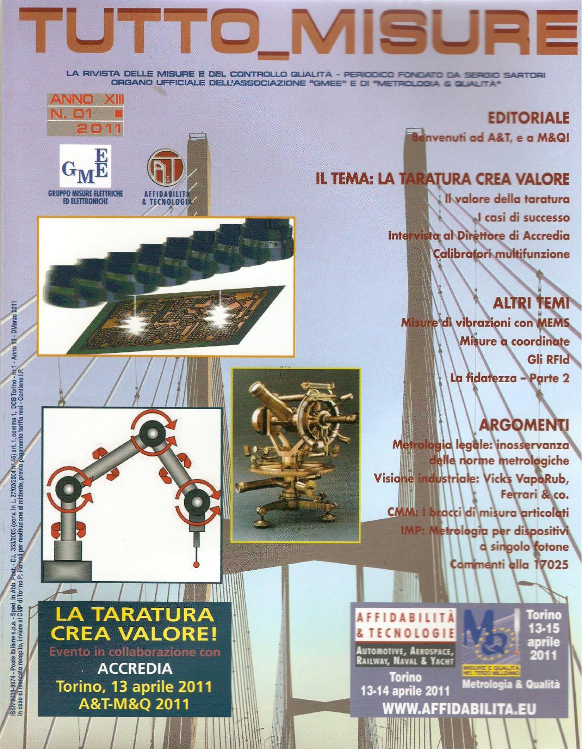 f23a66dc8672 Tutto Misure 01 2011 by Tutto Misure - issuu
