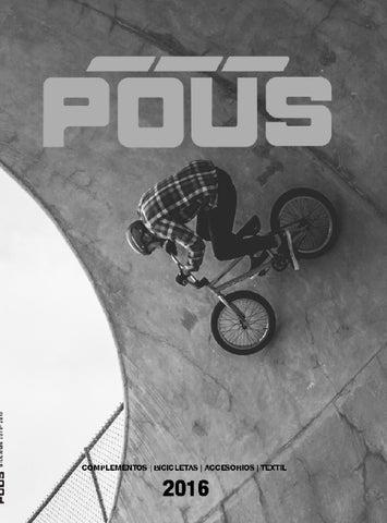 ad0ae6b55 Bicicleta 2015-2016 by Comercial Pous - issuu