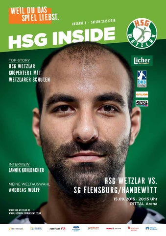 Hsg Inside 3 15 09 2015 By Hsg Wetzlar Handball Bundesliga
