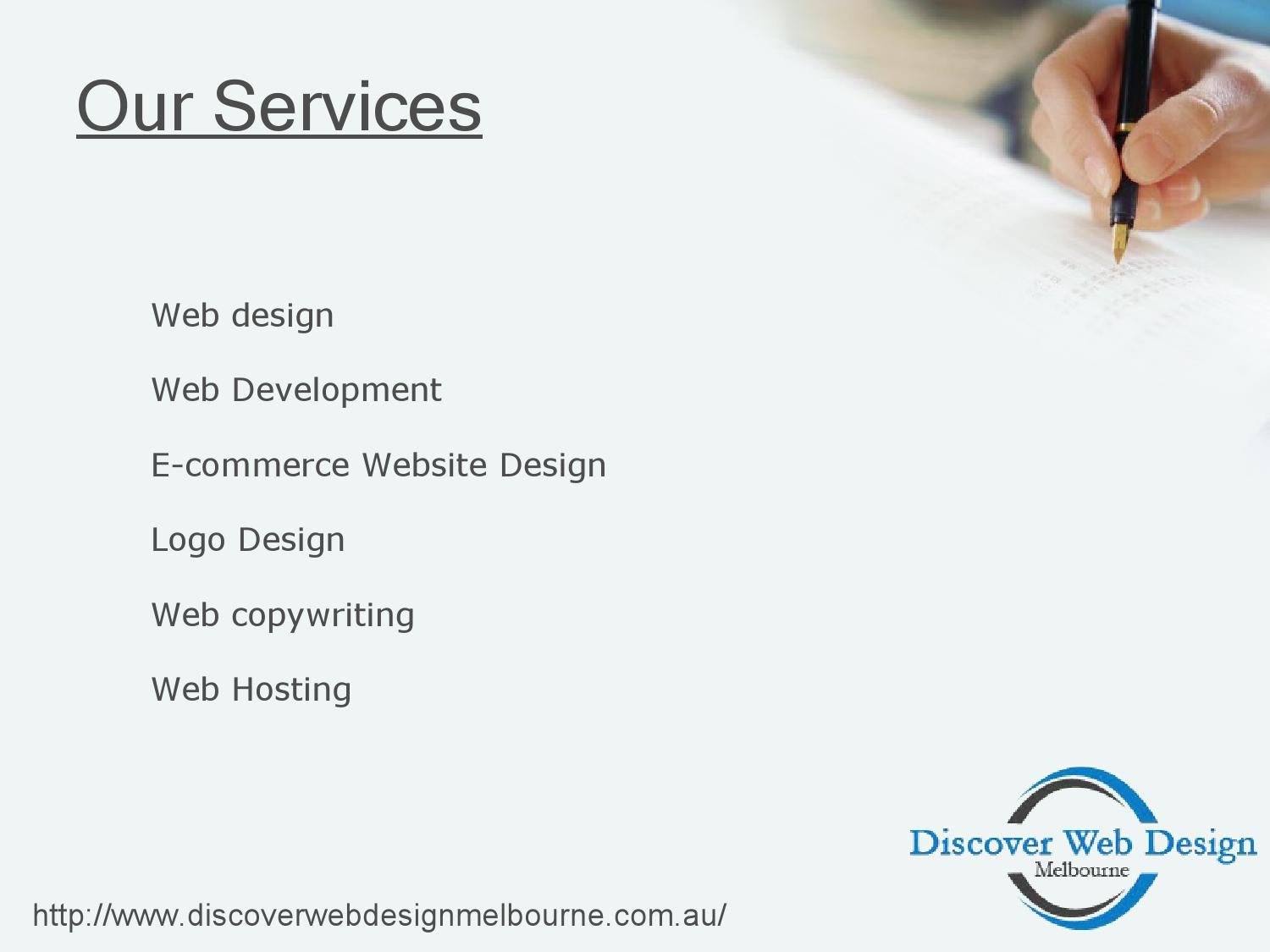 Web copywriting services melbourne