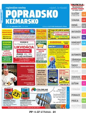 5e4861a61 Popradsko 15-37 by REGIONPRESS - Popradsko - issuu