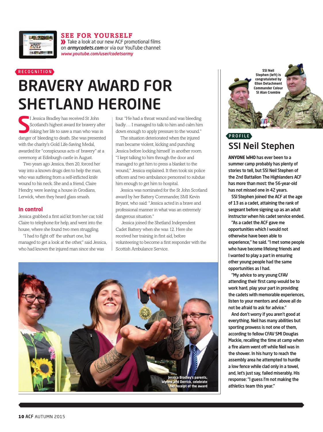 Army Cadet Volunteer magazine autumn 2015 by Army Cadets - issuu