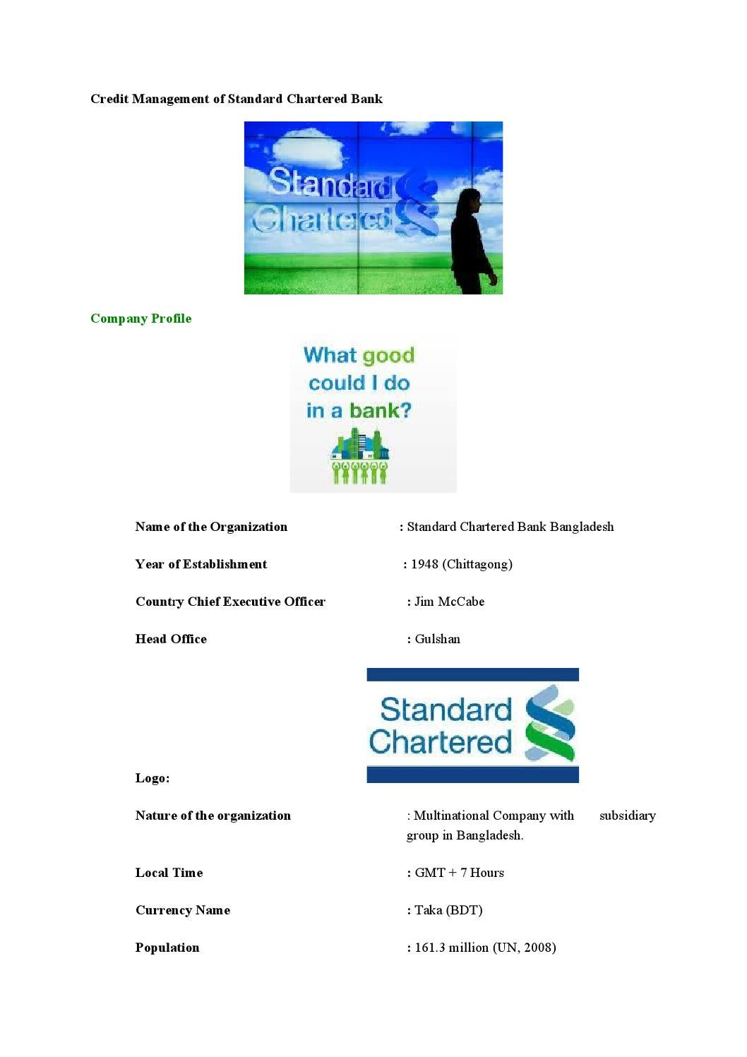 Credit management of standard chartered bank by md papon issuu falaconquin