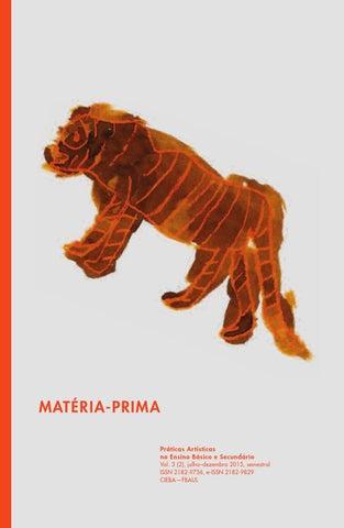 f6df22cea4 MATÉRIA-PRIMA Práticas Artísticas no Ensino Básico e Secundário Vol. 3 (2)
