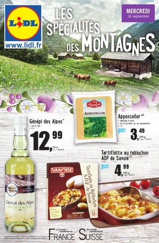Lidl Catalogue 16 22septembre2015 By Promocataloguescom Issuu