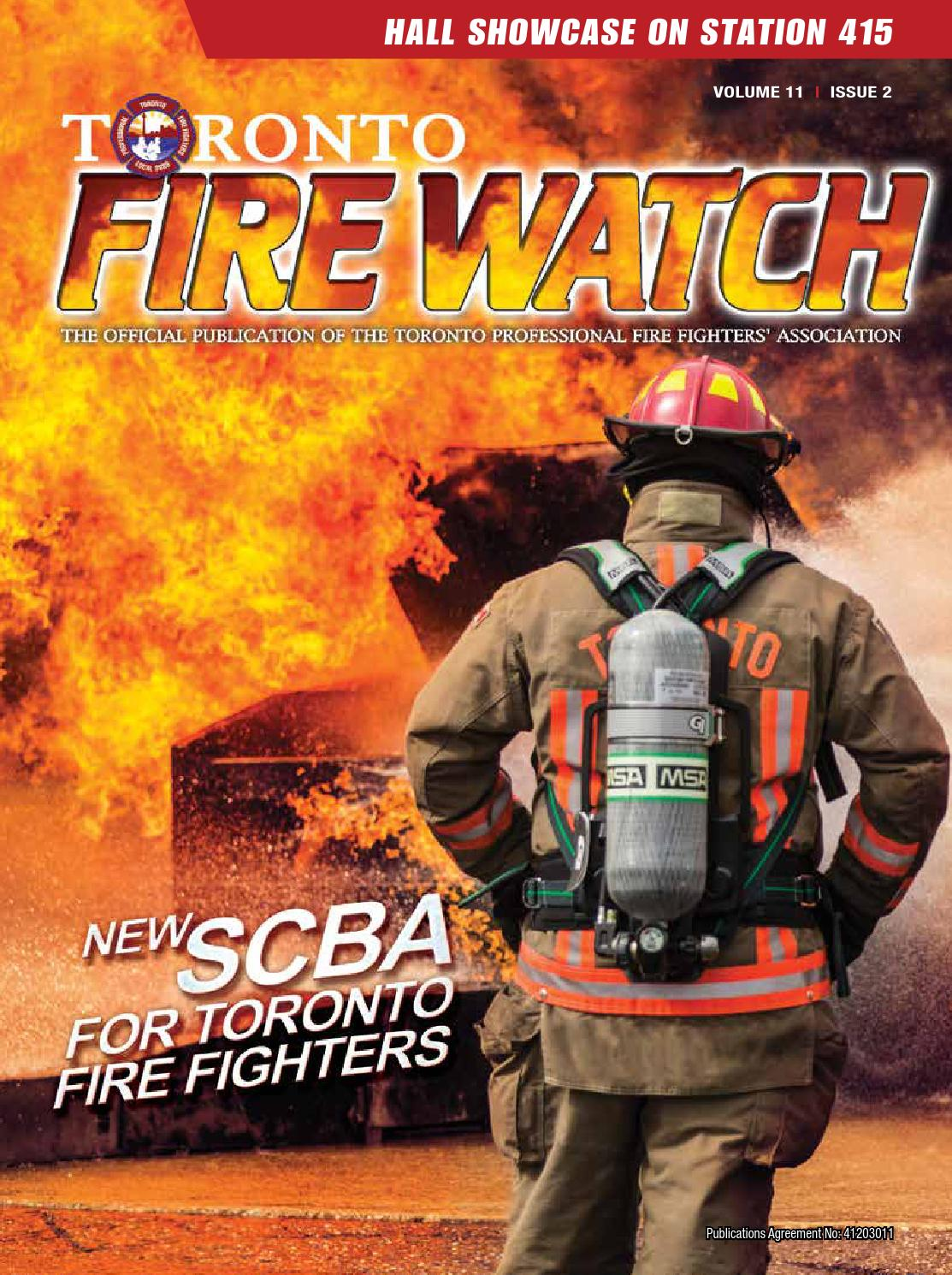Fire Watch Volume 11 Issue 2 By Toronto Professional Fighters Association