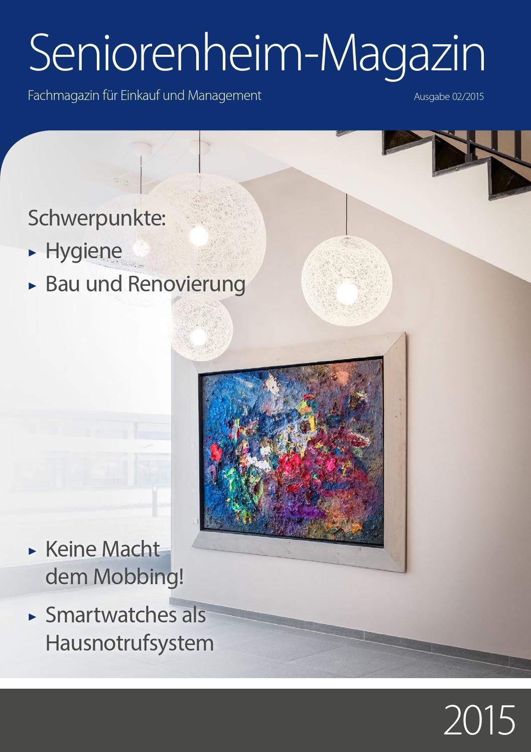 Seniorenheim-Magazin Ausgabe 02/2015 by Eiers Media - issuu
