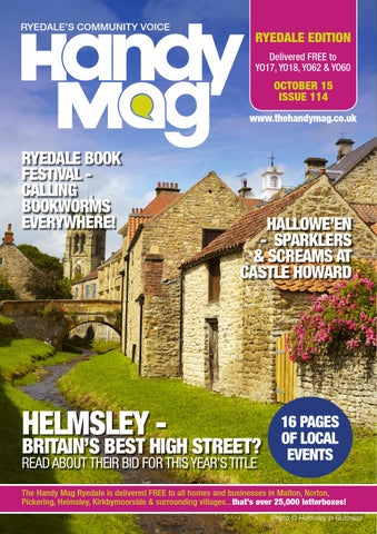 Handy Mag Ryedale Oct15 By Moonriver Publishing Ltd Issuu