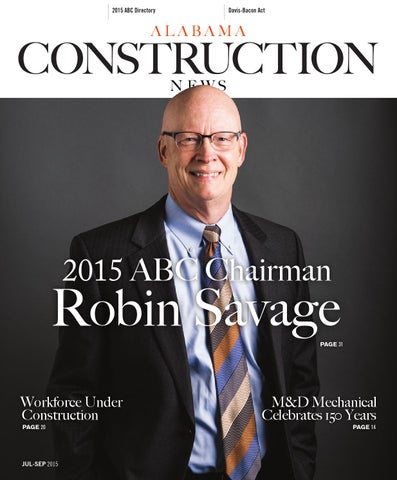 Alabama Construction News Magazine Q3 2015 By Abc Of