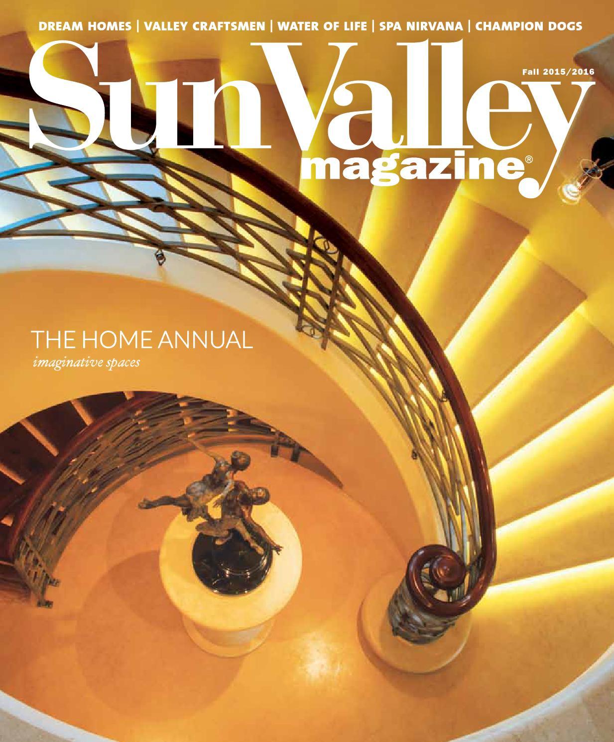 Sun Valley Magazine Fall Home 2015 By Sun Valley Magazine Issuu