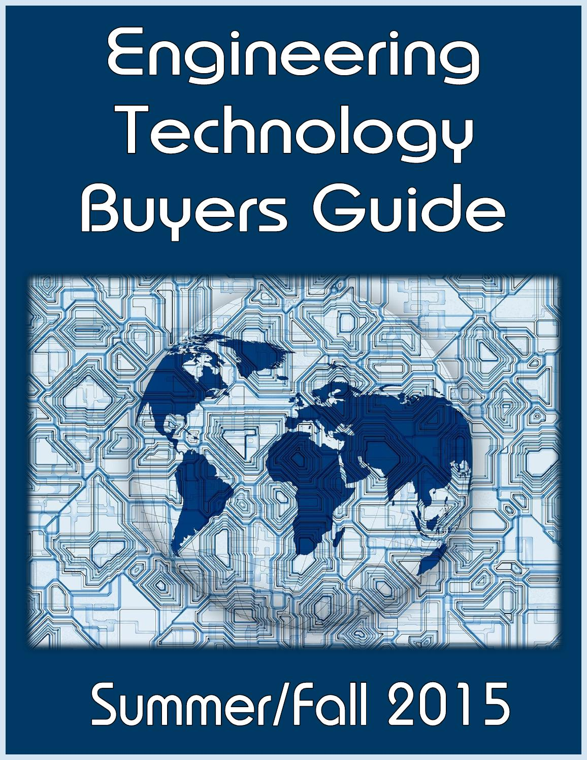 Engineering Technology Buyers Guide by Federal Buyers Guide, inc ...