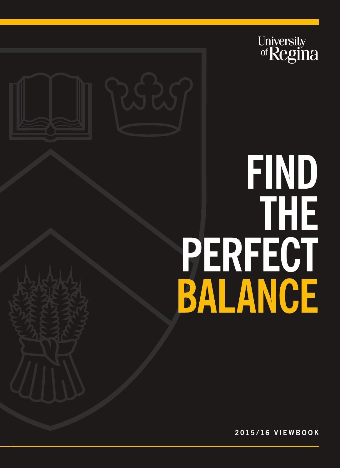 University of Regina - Find the Perfect Balance by U of R - issuu