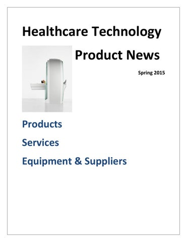 Healthcare Technology Product News