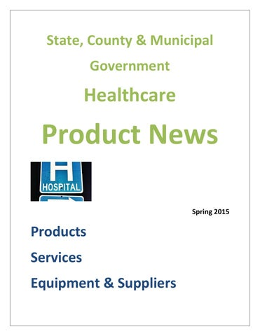 State, County & Municipal Government Healthcare News