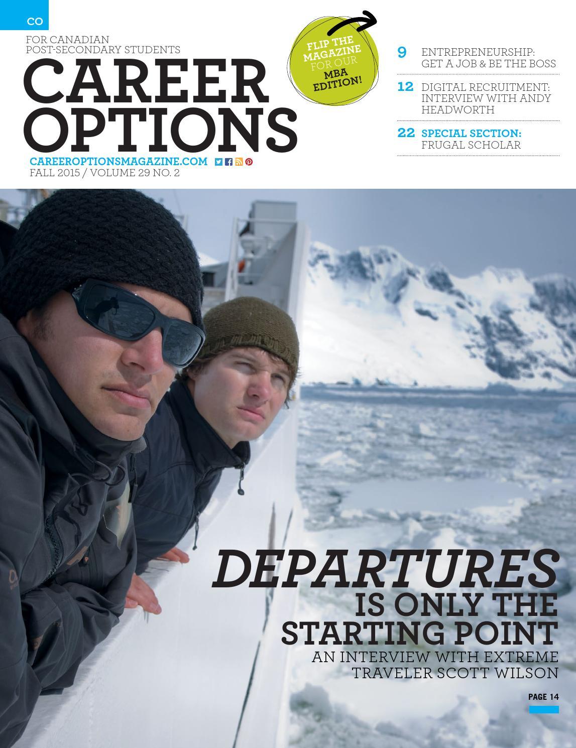 career options magazine schools co ps 2015