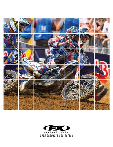 Factory Effex 12-64526 White Pre-Cut Number Plate Graphic Background