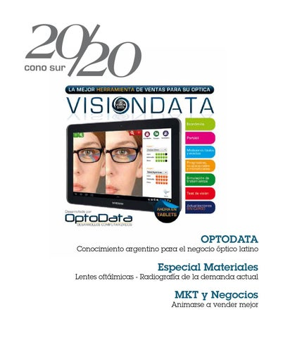 4652311758 Revista 20/20 Cono Sur #13 by Vision Market - issuu