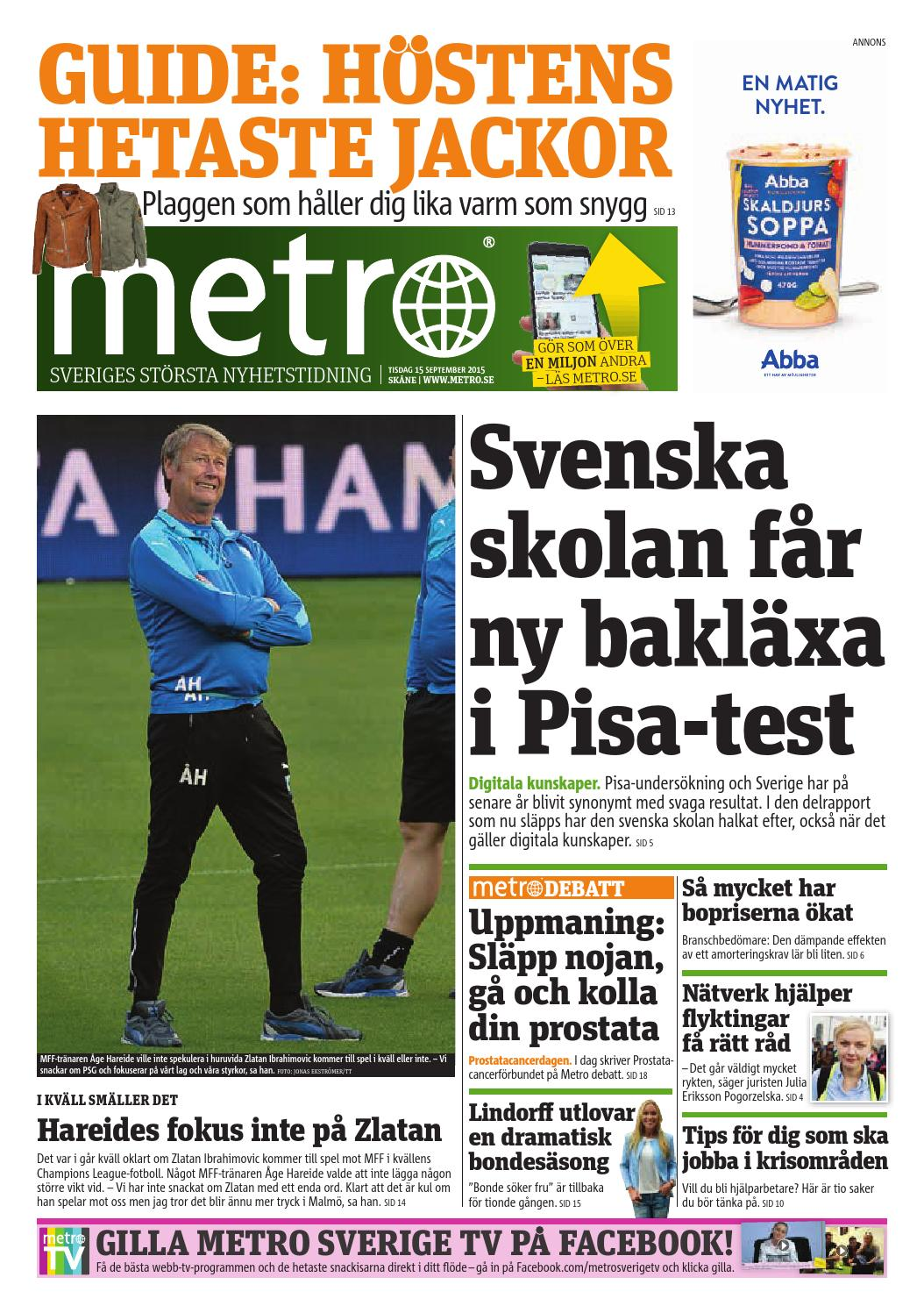 20150915 se malmo by Metro Sweden - issuu a0c313a5cb216