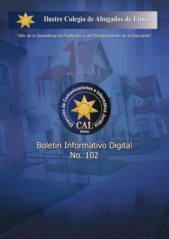 """8d571405853 Ilustre Colegio de Abogados de Lima """"Año de la Diversificación Productiva y  del Fortalecimiento de la Educación"""""""