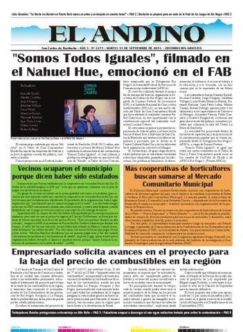 15 De Septiembre De 2015 By Diario El Cordillerano Issuu
