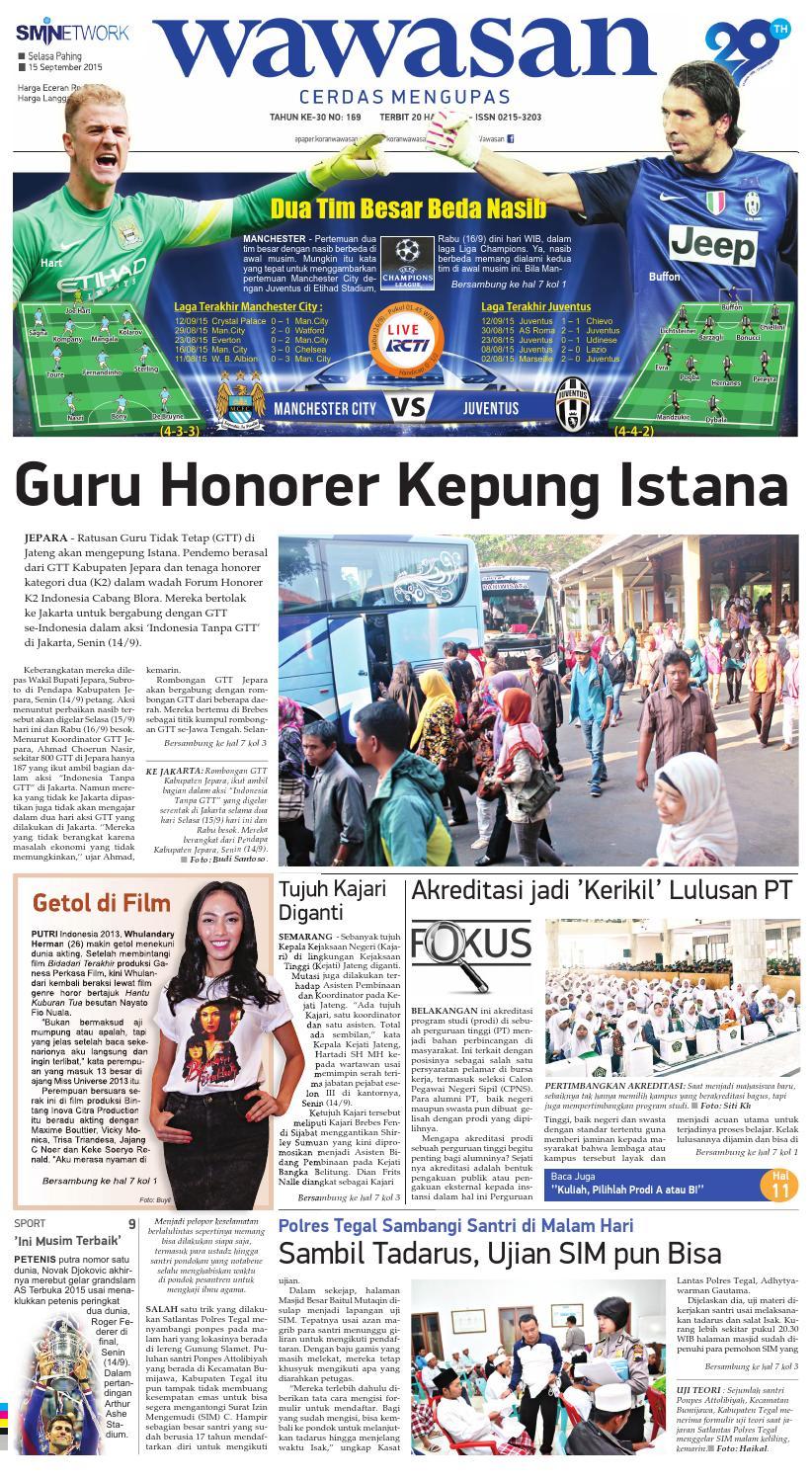 Wawasan 15 September 2015 By Koran Pagi Issuu Produk Ukm Bumn Batik Lengan Panjang Parang Toko Ngremboko