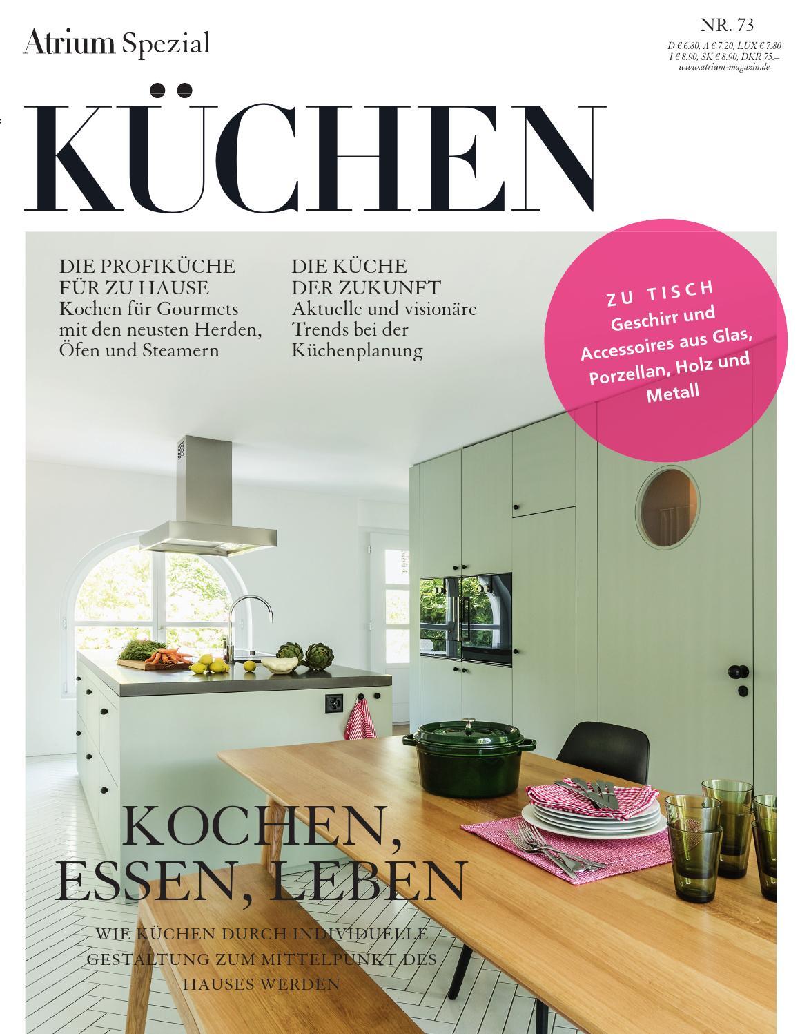 atrium spezial k chen 2015 by archithema verlag issuu. Black Bedroom Furniture Sets. Home Design Ideas