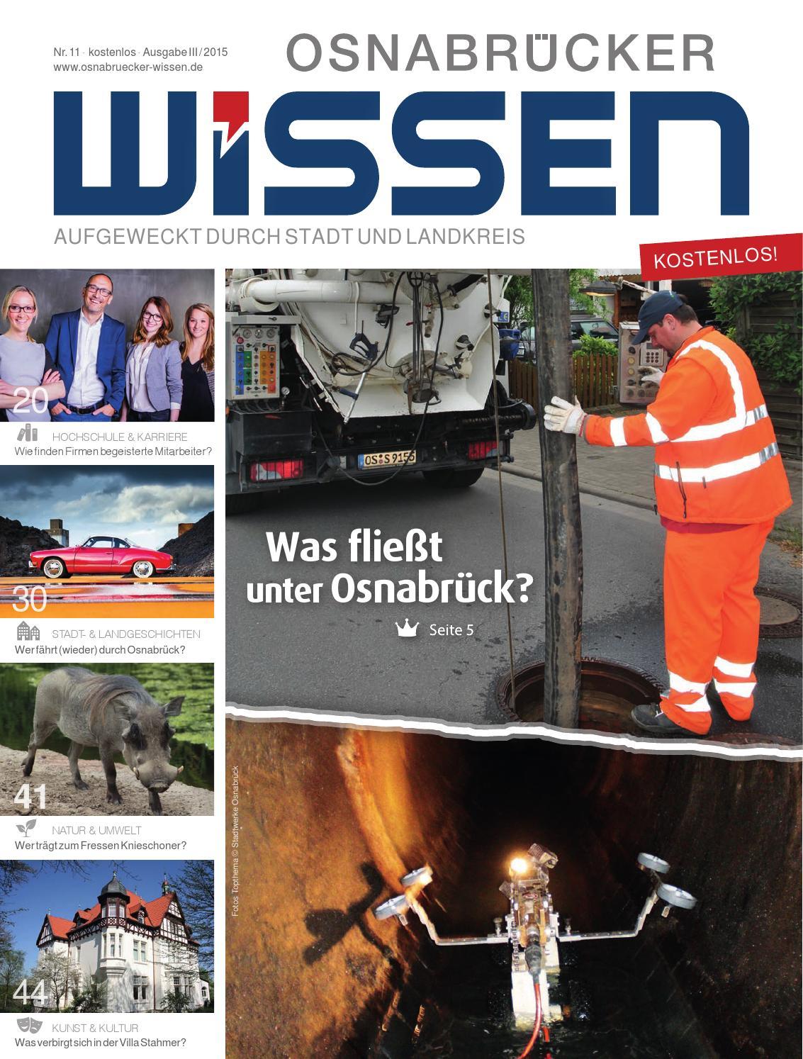Nr. 11 (III-2015) - Osnabrücker Wissen by Osnabrücker Wissen - issuu