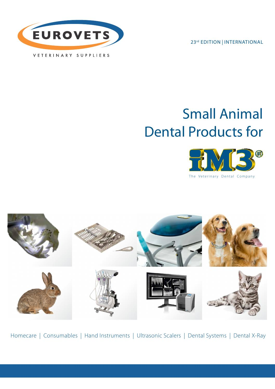 iM3 - Small animal dental products for by Eurovets Veterinary