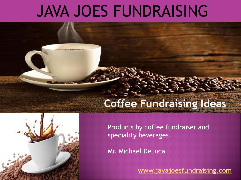 coffee fundraising ideas by javajoes - issuu