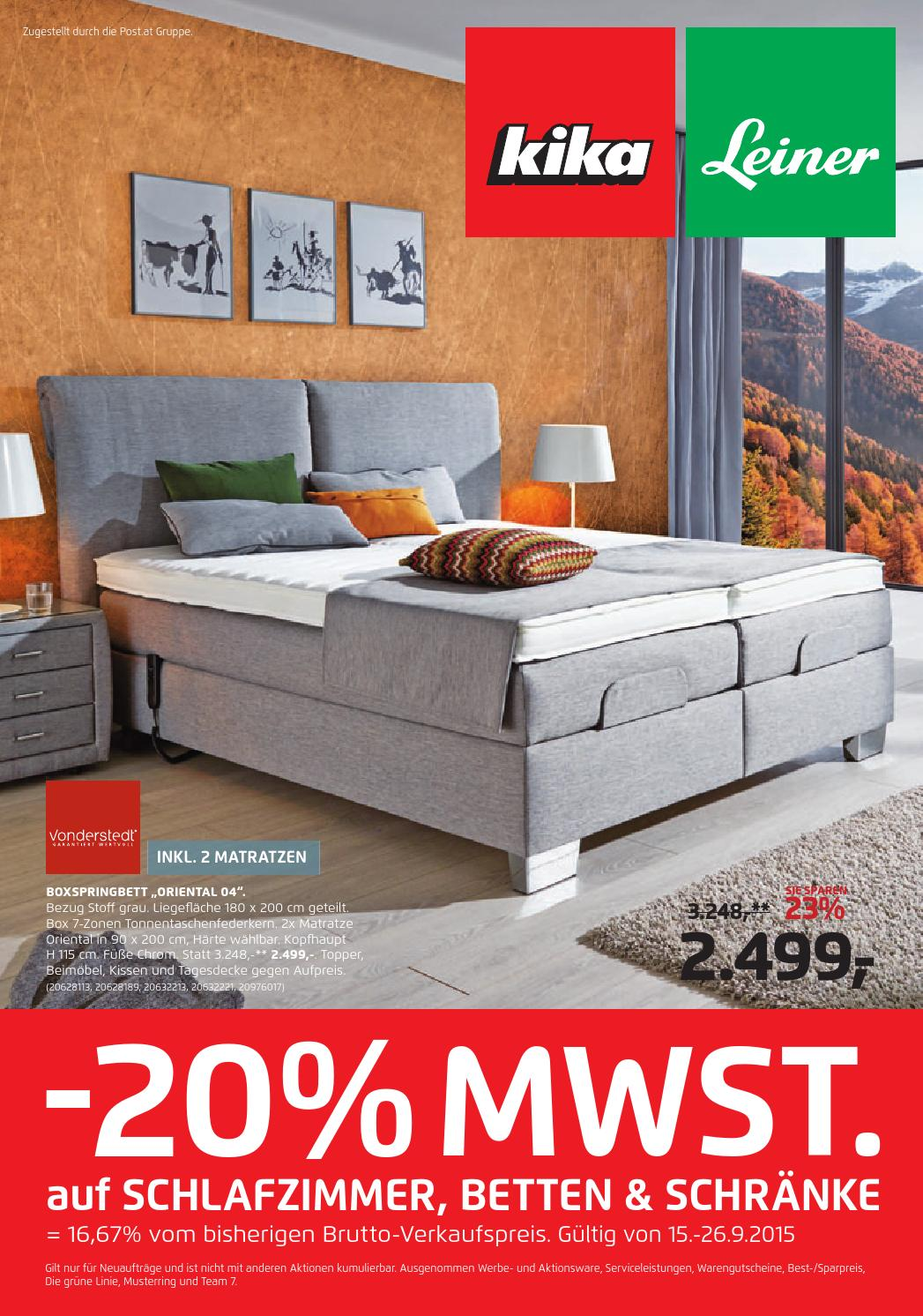 Schlafzimmer Grune Linie 3 #28: Kika Angebote 15 26september2015 By PromoAngebote.at - Issuu
