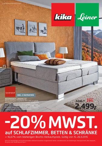 kika angebote 15 26september2015 by issuu. Black Bedroom Furniture Sets. Home Design Ideas