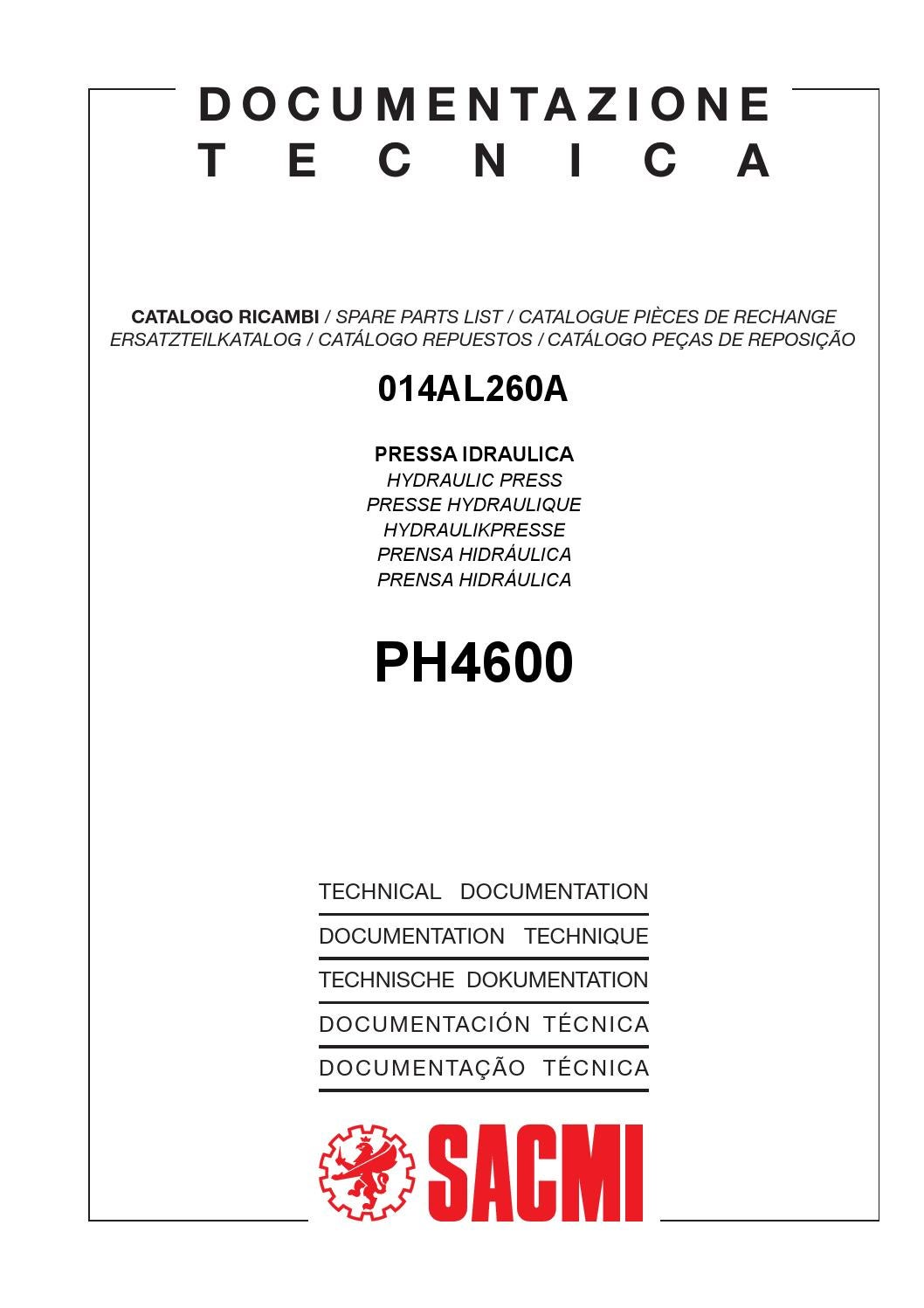 Ph 4600 by IMPORTACION LOURDES - issuu