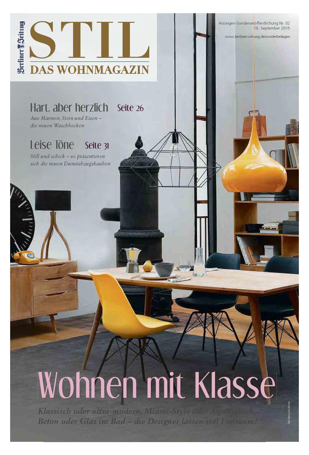 BLZ STIL Das Wohnmagazin by Berlin Medien GmbH - issuu