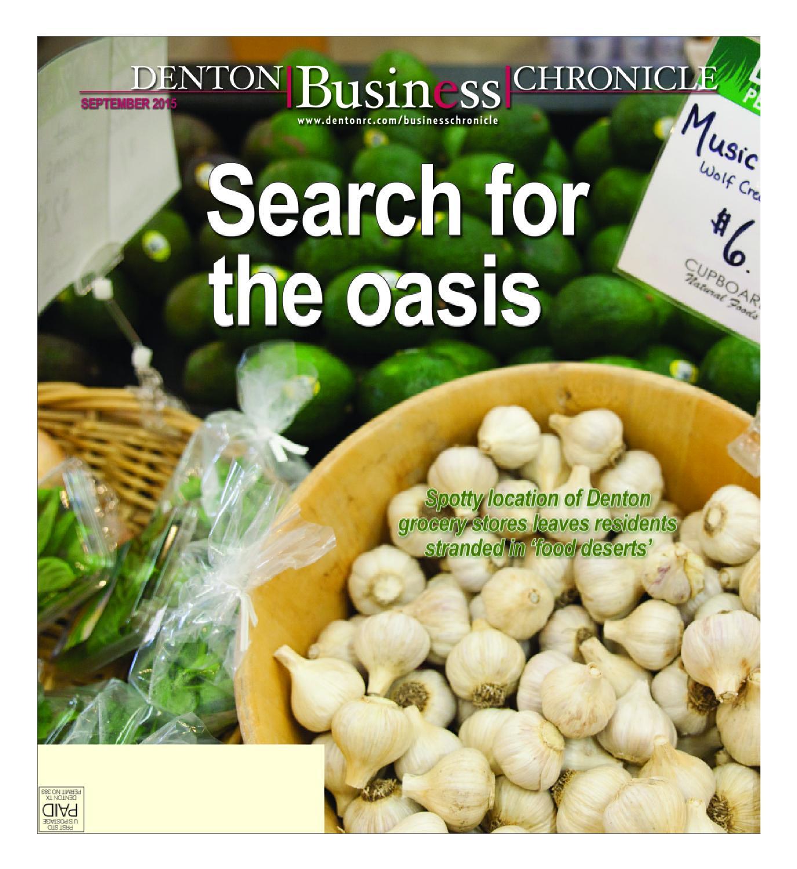 September Denton Business Chronicle 2015 by Larry McBride issuu