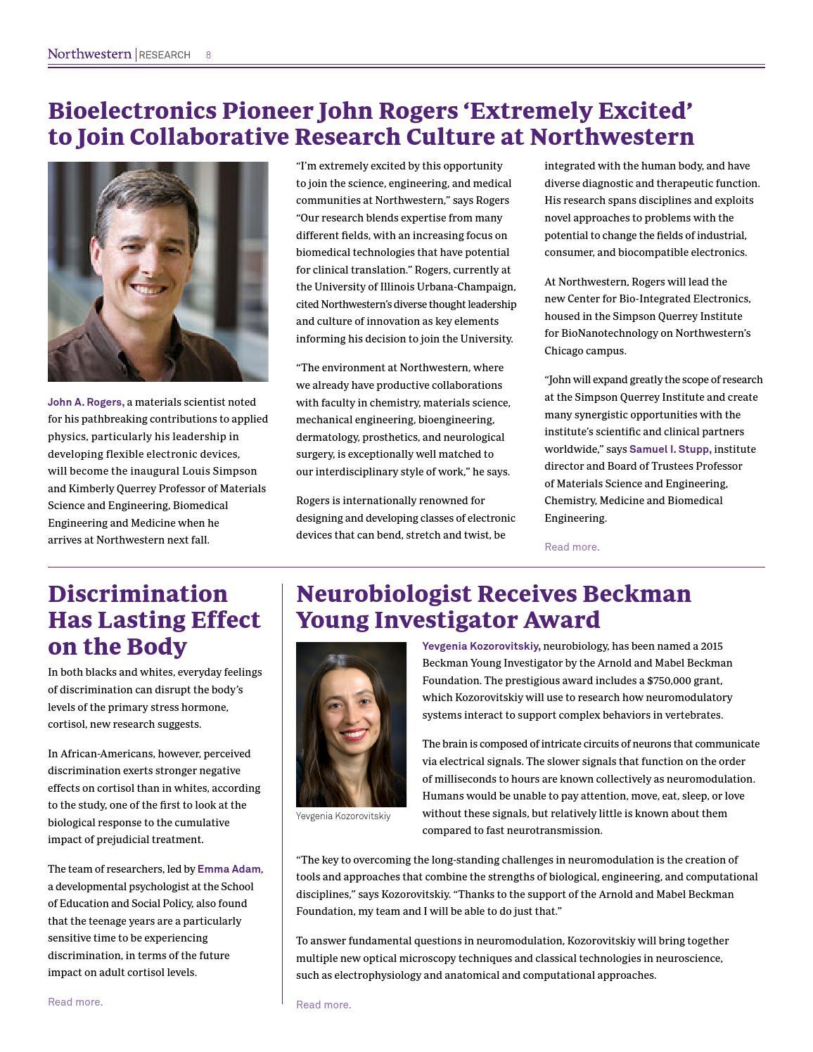 September2015 by Northwestern University Research - issuu