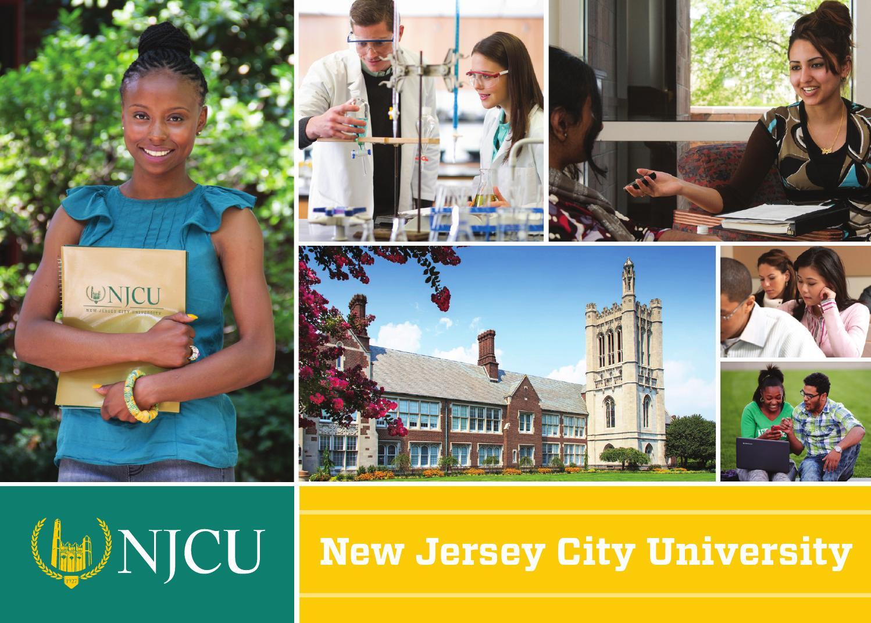 Njcu Viewbook By New Jersey City University Issuu