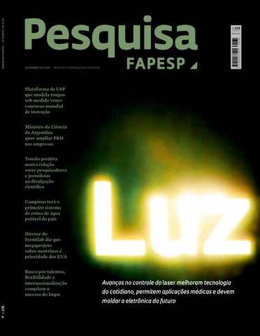 b1665aacfa3bc Luz by Pesquisa Fapesp - issuu