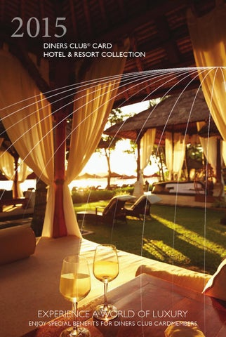 Diners Club Card Hotel And Resort Collection 2015 By Bmo