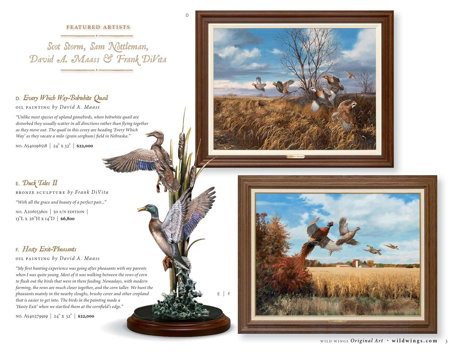Wild Wings Original Art Catalog 2015 by Wild Wings - issuu
