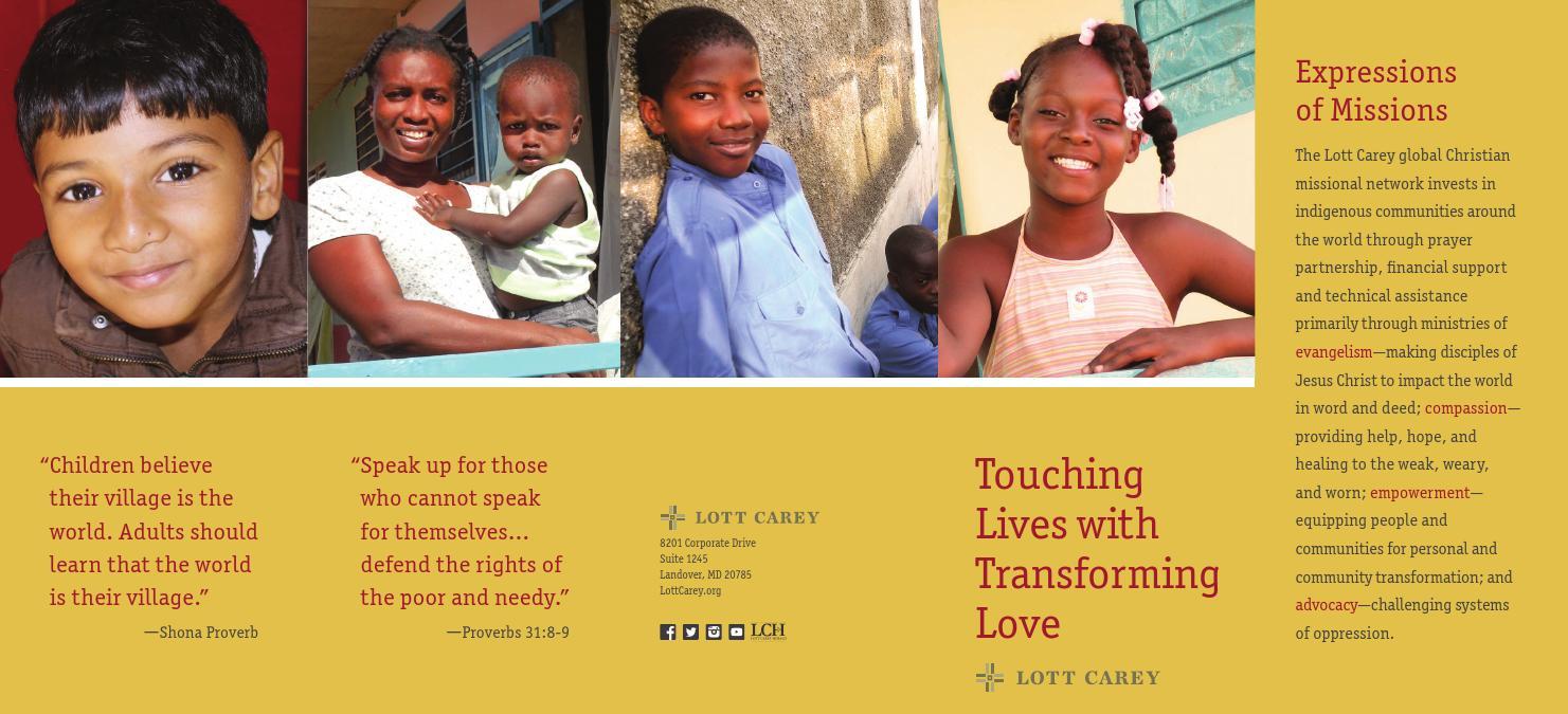 Lott carey brochure by Lott Carey - issuu