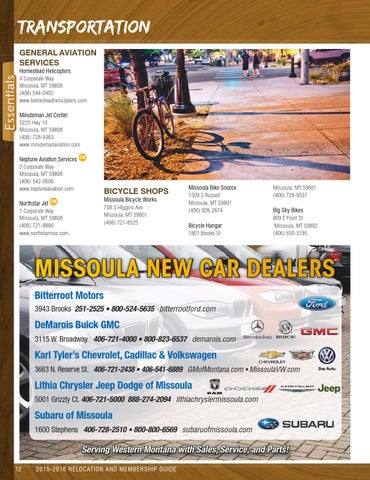 2015   2016 Missoula Relocation Guide By Missoulian   Issuu