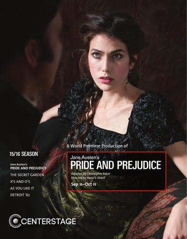 Pride Prejudice Program By Baltimore Center Stage Issuu