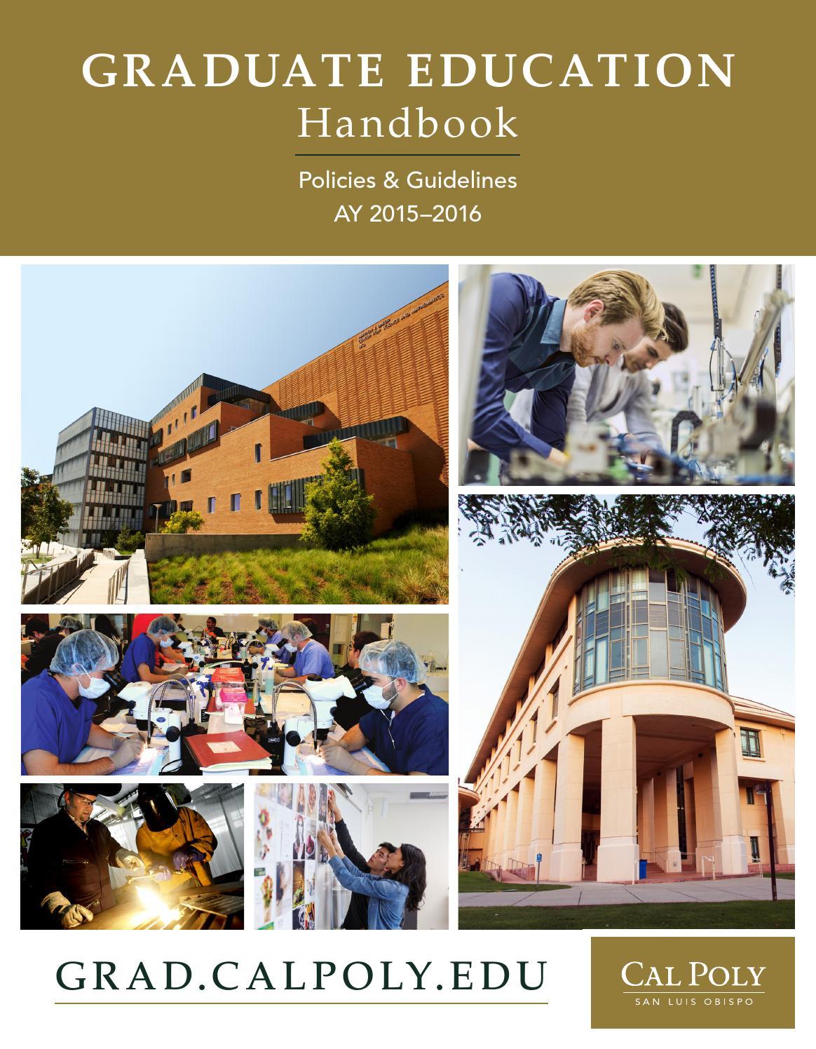 bachelor of education handbook