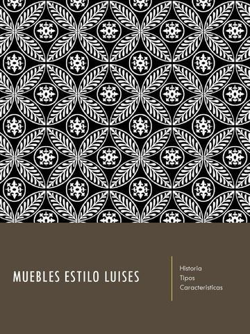 MUEBLES ESTILO LUIS XII,XIV,XV Y XVI by Jackie - issuu