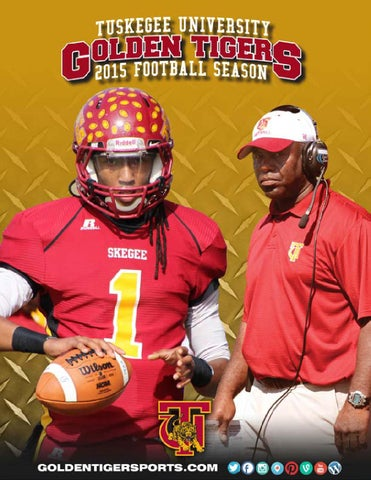 2015 Football Media Guide by Tuskegee Athletics issuu  supplier