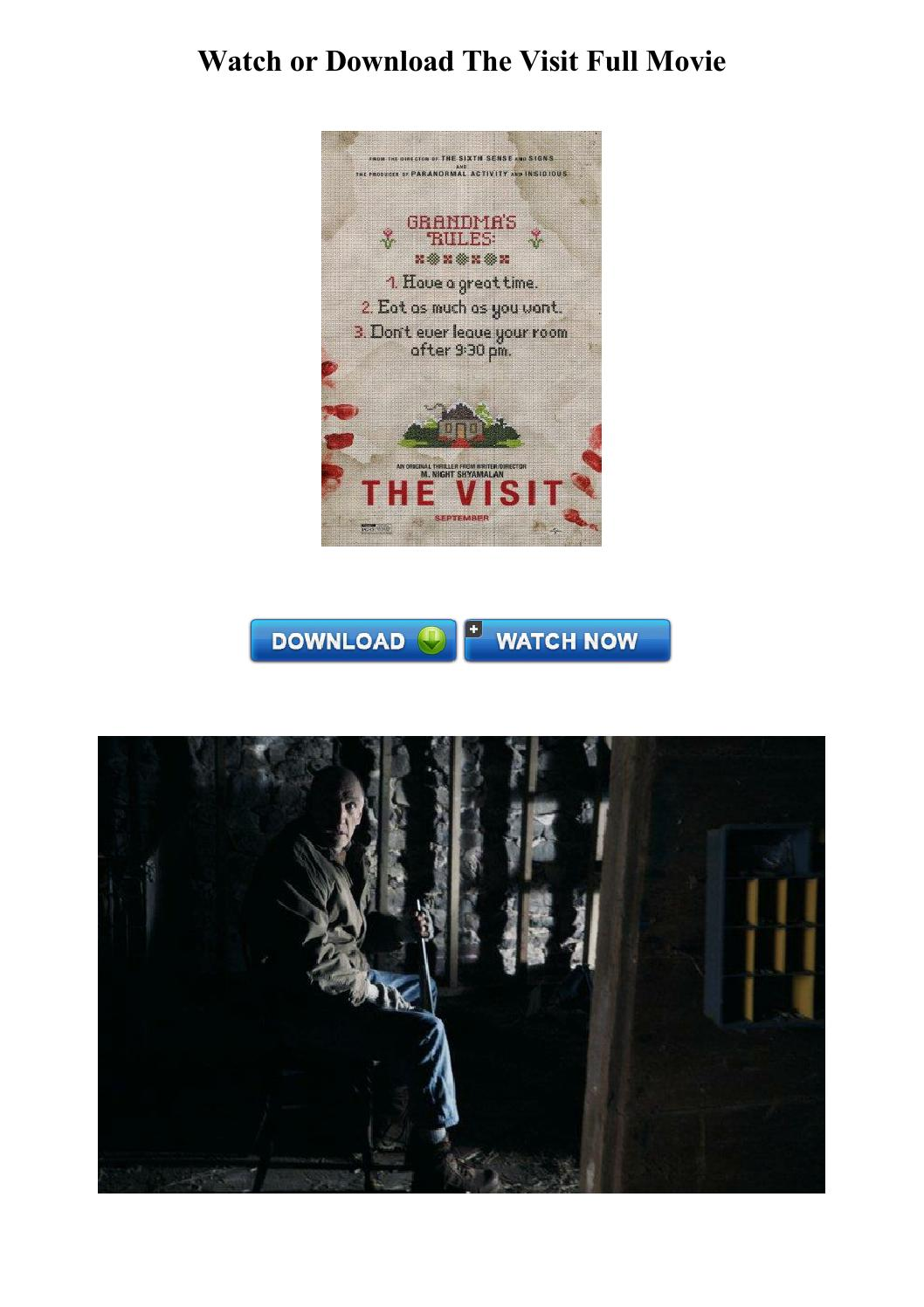 Watch The Visit Movie Free Online Full HD   the movie