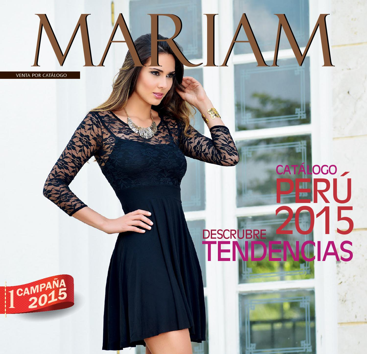 d6b3ac9b8be3 Catalogo Mariam - Campaña 01/15 by Mariam Perú - issuu